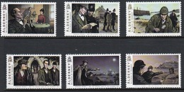 Alderney Set Of Stamps To Celebrate The 150th Anniversary Of Sir Arthur Conan Doyle. - Alderney
