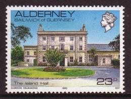 Alderney Single 23p Stamp From The 'Island Scenes' Definitive Set. - Alderney