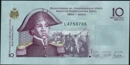 HAITI - 10 Gourdes 2012 {Commemorative} UNC  P.272 E - Haïti