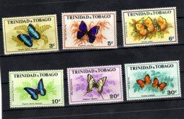 Trinidad & Tobago, 1972, SG 407 - 412, Mint Hinged - Trinité & Tobago (1962-...)