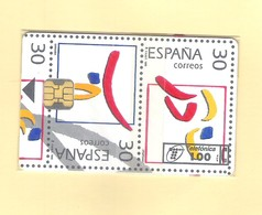 "CHIPCARD SPAIN ""ESPAÑA CORREOS-ANFIL"" P166 - 12/95 - EX: 6.100 - MINT/SEALED - Emissions Privées"