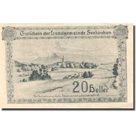 Billet, Autriche, Seekirchen, 20 Heller, Village 1920-12-31, SPL Mehl:FS 986a - Oesterreich