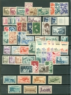 Morocco French LOT Of 63 Incl 9 SETS Views Airmails Ships More MNH Cat $154 WYSIWYG A04s - Morocco (1956-...)