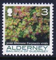 Alderney Single 3p Stamp From The 'Corals And Anemones' Definitive Set. - Alderney