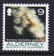 Alderney Single 9p Stamp From The 'Corals And Anemones' Definitive Set. - Alderney