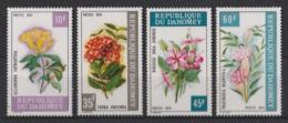 1975 Dahomey Fiori Flowers Blumen Fleurs MNH** Fio220 - Flora