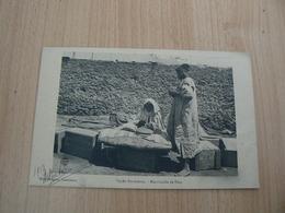 CP30/ MAROC MARCHANDE DE PAIN  / CARTE VOYAGEE - Morocco