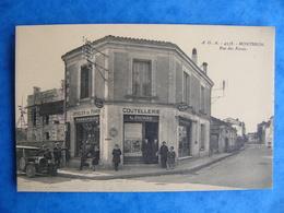 Montbron Rue Des Fossés L. Picard Coutellerie Articles De Paris Pompes à Essence - Other Municipalities