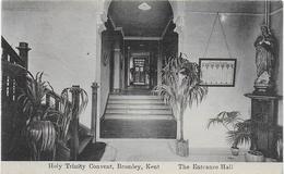 Holy Trinity Convent, Bromley, Kent The Entrance Hall CPA Non écrite - Autres