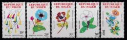 1989 Niger Fiori Flowers Blumen Fleurs MNH** Fio221 - Flora