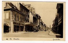DOUBS  /  PONTARLIER  /  GRANDE - RUE  ( Automobile PEUGEOT Années 20-30 ) /  Edit.  CAP  N° 69 - Pontarlier