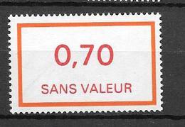 FRANCE FICTIF N°F211**  Mnh   Sans Charnière - Phantomausgaben