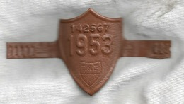 Velonummer Waadt VD 53 (Original-Rahmennummer) - Number Plates