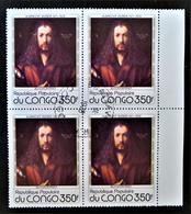 TABLEAU D'ALBRECHT DÜRER - AUTOPORTRAIT 1978 - 1 BL X 4 OBLITERE - YT 523 - MI 660 - BORD DE FEUILLE - Oblitérés