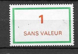 FRANCE FICTIF N°F212**  Mnh   Sans Charnière - Phantomausgaben