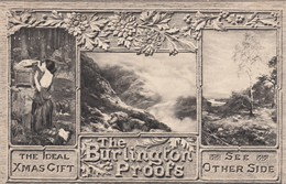 """The Burlington Proofs """"The Ideal Xmas Gift"""" , 00-10s - Advertising"""