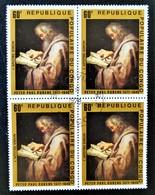 TABLEAU DE RUBENS - L'APÔTRE SIMON 1978 - 1 BL X 4 OBLITERE - YT 480 - MI 606 - Congo - Brazzaville