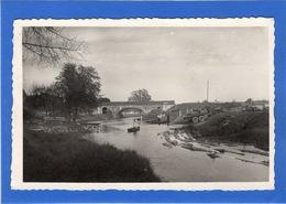 85 VENDEE - LE GUE DE VELLUIRE Pont Et Port, Flottage Des Grumes (voir Descriptif) - Sables D'Olonne