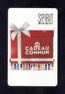 Carte Cadeau  SPIRIT.  Le Cadeau Commun.   Gift Card. - Cartes Cadeaux