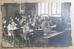 PHOTO DE CLASSE -  Photo Réalisée Par E.HUBER - Nouvel Avricourt Moselle( Ecole, Enfants, Professeur, Instituteur ) - Métiers