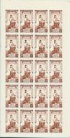 Indochine YT PA 21 XX / MNH En Feuille Complète De 20 - Indochine (1889-1945)