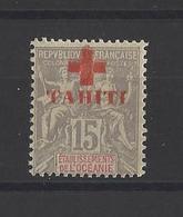 TAHITI.  YT   N° 35  Neuf *  1915 - Tahiti (1882-1915)
