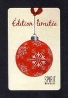 Carte Cadeau SPIRIT.  Noël 2013.   Gift Card. - Cartes Cadeaux
