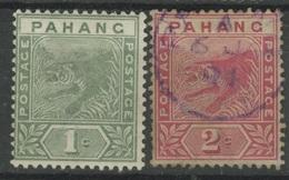 Pahang YT5-6. - Territoire Britannique De L'Océan Indien