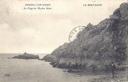 CPA - Beuzec Cap Sizun - La Plage Du Moulin Blanc - Beuzec-Cap-Sizun
