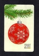 Carte Cadeau SPIRIT  Noël 2014.   Gift Card. - Cartes Cadeaux