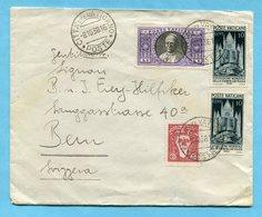 Brief Vom Vatican Nach Bern 1938 - Lettres & Documents