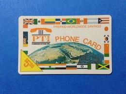 USA STATI UNITI SCHEDA TELEFONICA PREPAGATA USATA USED PREPAID PHONE CARD $ 5 - Andere