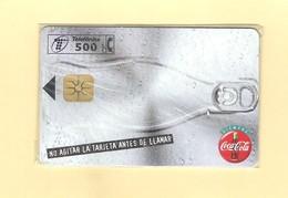 "CHIPCARD SPAIN ""COCA-COLA-LATA - I"" P287 - 09/97 - MINT/SEALED - Emissions Privées"