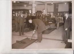 CHARING CROSS STATION LONDON UNDERGROUND MIDGET GOLF RAILWAY   25*20 CM Fonds Victor FORBIN 1864-1947 - Trenes