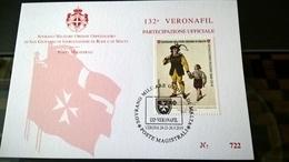 SMOM 2019 PARTECIPAZIONE UFFICIALE VERONAFIL GIOACCHINO ROSSINI - Sovrano Militare Ordine Di Malta
