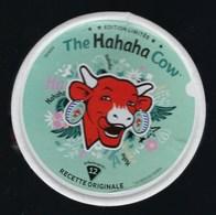 """Etiquette Fromage La Vache Qui Rit   """" The Hahaha Cow édition Limitée 12 Portions  """" - Cheese"""