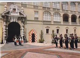 CPM PRINCIPAUTE DE MONACO Relève De La Garde Devant Palais Princier - Palais Princier