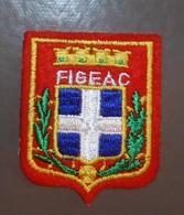 Ecusson Brodé Figeac Rouge - Ecussons Tissu