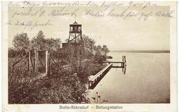 Berlin-Rahnsdorf - Treptow-Köpenick - Rettungsstation - Gesendet 1929 - Treptow