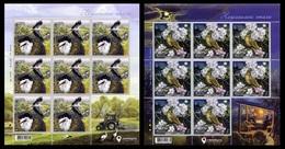 UKRAINE 2019 Mi 1795klb-1796klb Europe CEPT. National Birds / Europa CEPT. Nationalvögel **/MNH - Storchenvögel