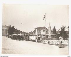 Annecy - L'embarcadere Avec Le France - Port - Savoie - Attelage Taxi - Vers 1900 - Places