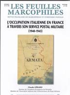 L OCCUPATION ITALIENNE EN FRANCE A TRAVERS SON SERVICE POSTAL MILITAIRE  Par Claude Gerard   155 Pages - Handbücher