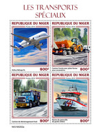 NIGER 2019 - Special Transport: Scania, Ford. Official Issue - Cars
