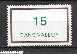 FRANCE FICTIF N°F218**  Mnh   Sans Charnière - Phantomausgaben