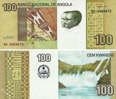 ANGOLA   100     2012 UNC - Angola