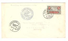 PR6570/ Switzerland 1er Flug Schweiz -Schweden C.Zurich 1938 C.Stockholm Et Rotterdam - Erst- U. Sonderflugbriefe