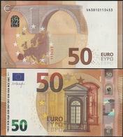 2017-NUEVO BILLETE DE 50 EUROS-SIN CIRCULAR-V004C5 - EURO