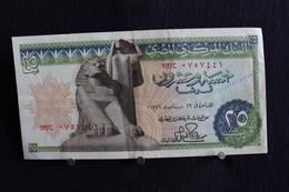 36 /  Central Bank Of Egypt  -Twenty-Five Piastres 25  /  N° - Egypte