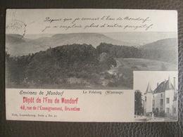 Cpa Luxembourg - Le Felsberg (Wintrange) Environs De Mondorf - Publicité Eau De Mondorf - Nels Luxembourg 4 21 - 1904 - Mondorf-les-Bains