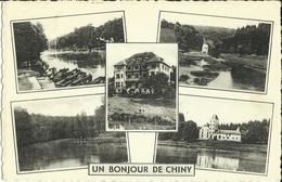 Chiny - Un Bonjour De Chiny - Multivues.    (2 Scans) - Chiny